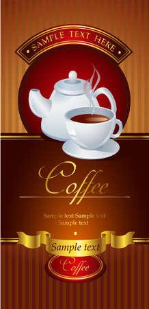 coffeecup: Coffee vector banner