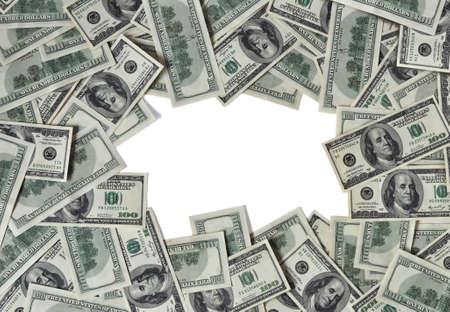 hundred: Frame from hundred dollar notes