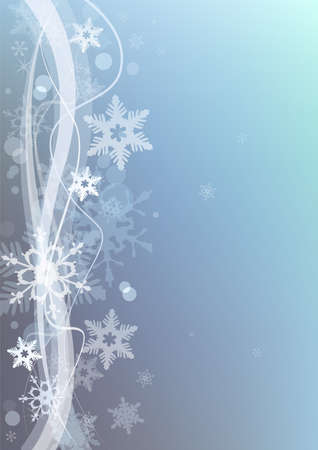 digitally generated image: Beautiful winter snow background for banners, backgrounds, presentations and decorations.