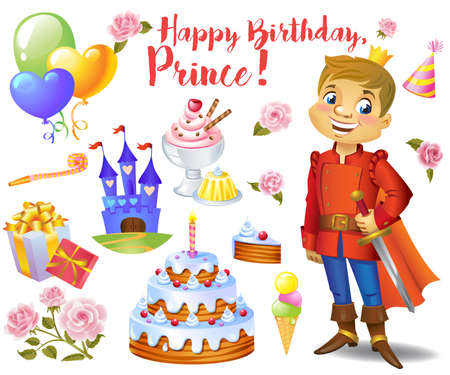 one of a kind: Cute birthday design elements