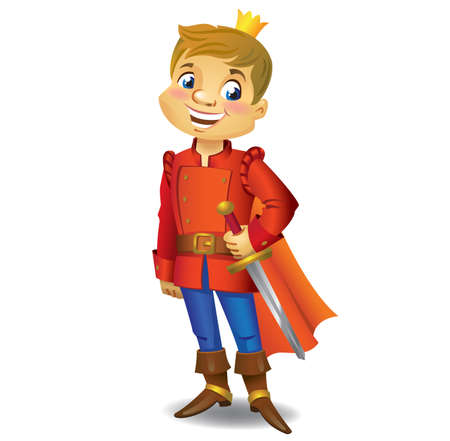 Cartoon cute Prince