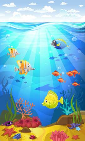 サンゴ海底 写真素材 - 81666102