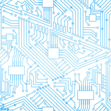 Seamless motherboard pattern