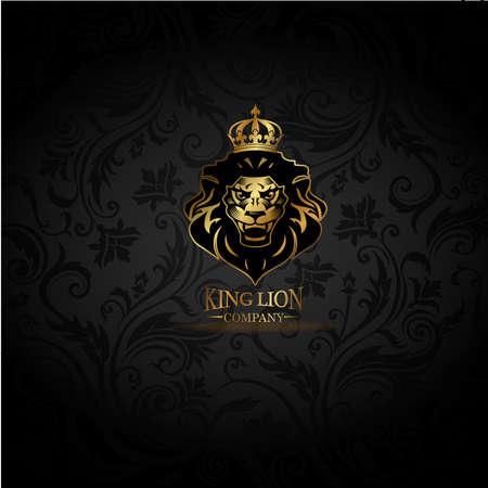 Emblema con León dorado