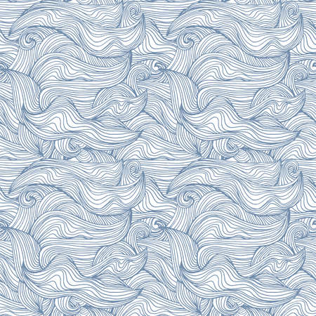 Abstract seamless patter with waves -universal neutral background for any project
