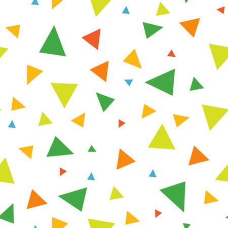 Abstract seamless pattern of triangles