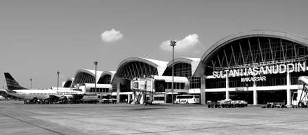 br: New Airport in Makasar Indonesia with modern Architecture