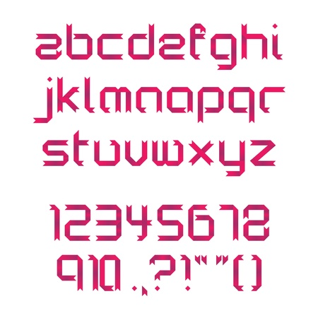 Red Ribbon Font