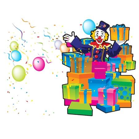 clown giftaway