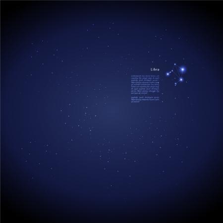 Zodiac : Libra Vector