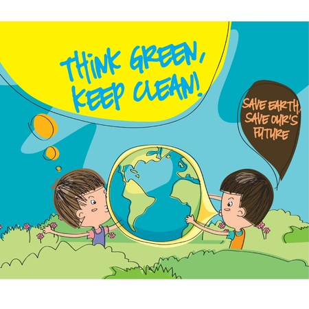 save the environment: Earth Day