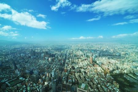 View from skyscraper photo