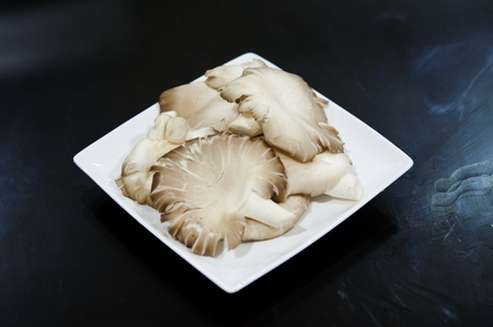 mushroom for steamboat Stock Photo