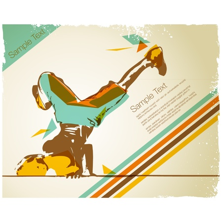 1,522 Break Dance Stock Vector Illustration And Royalty Free Break ...