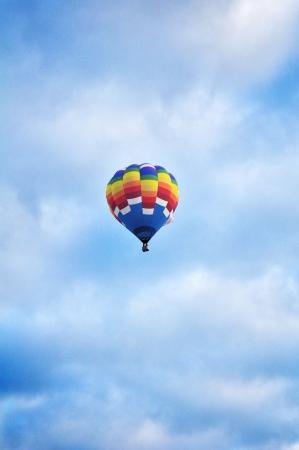 Hot Air Balloon Alone photo