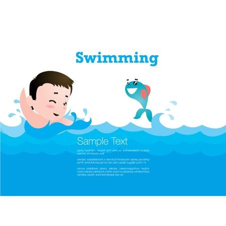 enfant maillot de bain: Piscine pour enfants