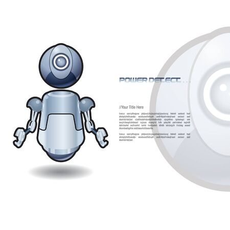 Robotic Stock Vector - 14814513