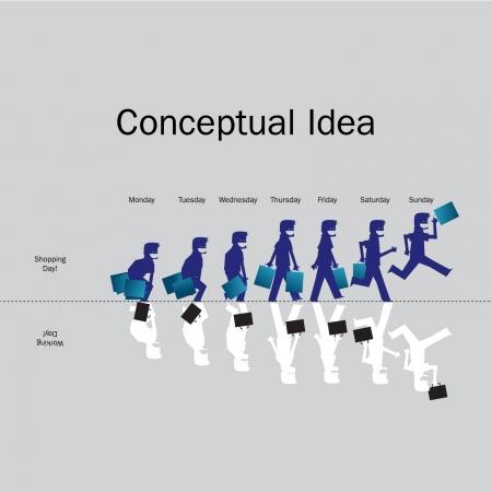 Evolución Humana Ilustración de vector