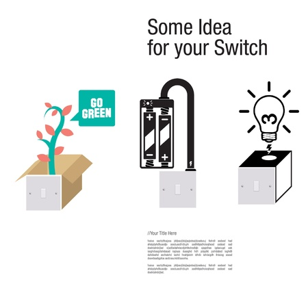 Switch the idea Vector