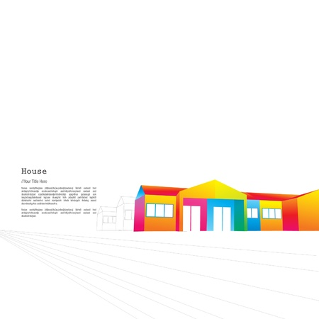 storey: Colourful single storey terrace