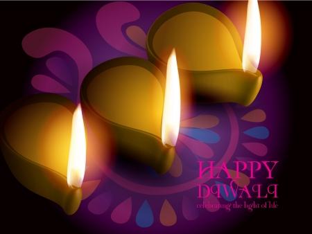 diwali celebration: Diwali Celebration Illustration