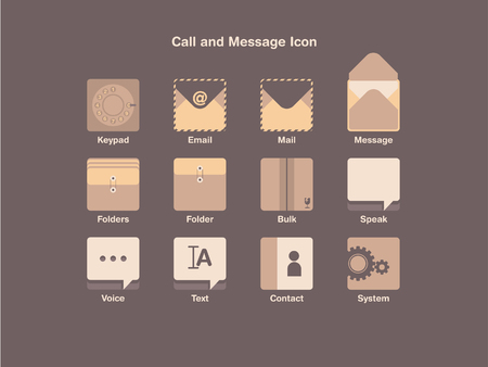 Call and Message Icon