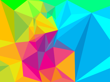 Vibrant Colorful Prism