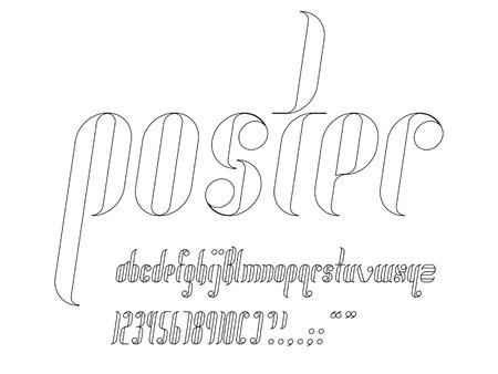 italic: Round Condensed Italic Font
