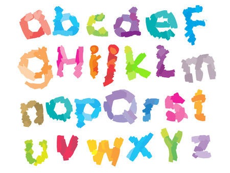 Playful Kid Font II Vector