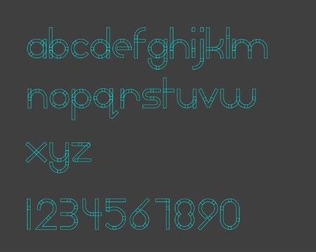 boxy: Boxy Line Font