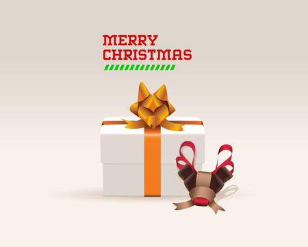 wrap: Fox and deer Ribbon Gift Wrap