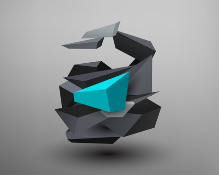 prism: 3D Prism Font - A