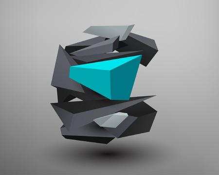 prism: 3D Prism Font - C