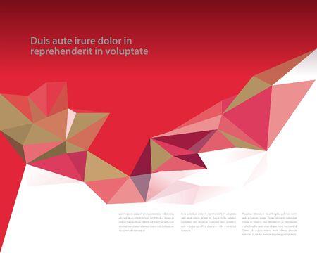 prisma: Plantilla de diseño de prisma Vectores