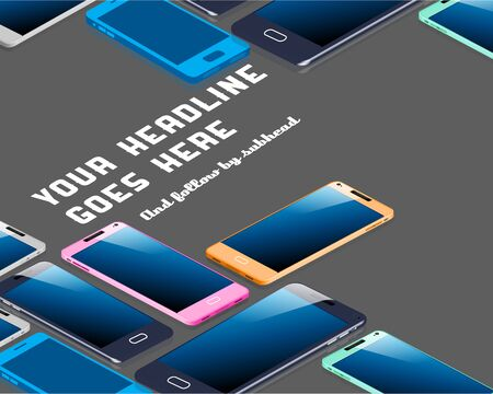 display: Smartphone Display Design Template