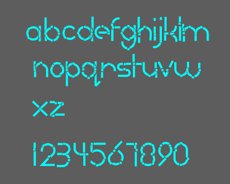 expose: Breaking Font Illustration
