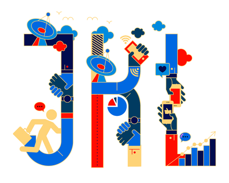 typeface: chinese version fonticon typeface - JKL