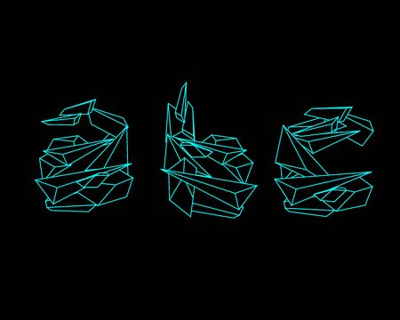 prisma: Prisma 3D de fuente - ABC