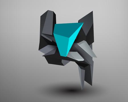 prism: 3D Prism Font - Y