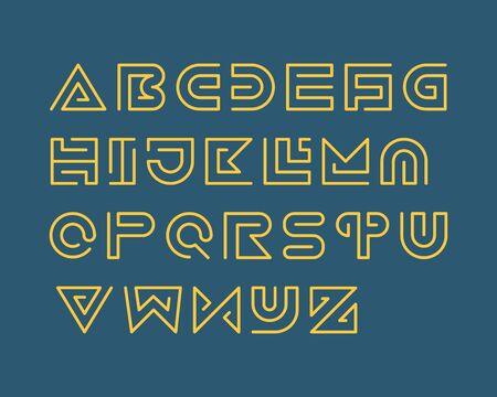 regular: Snake Stripe Font Set. Regular