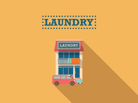 car clothes: Laundry Shop