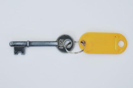 key with key chain Stock Photo