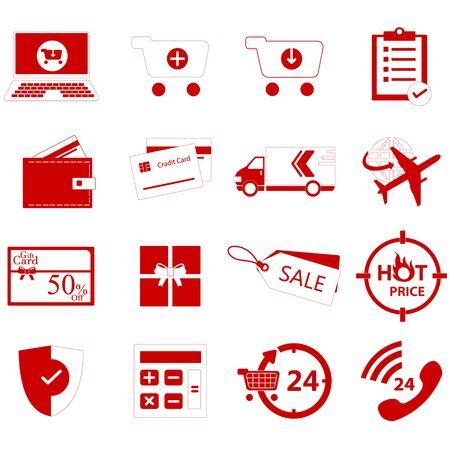 internet shop: internet shop icon Illustration