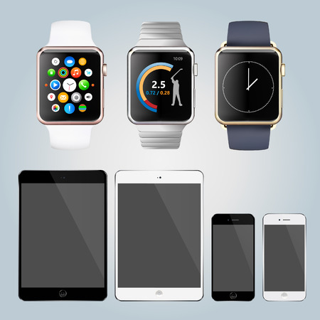 smart gadget mobile phone watch