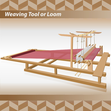 Loom vintage illustration