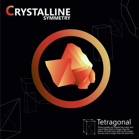 symmetry: crystals polygon style symmetry