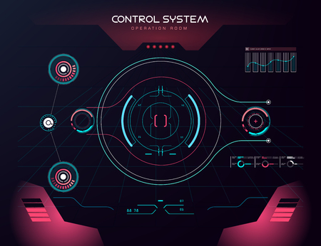 future sight action mode earth interface UI design graphic illustration HUD Çizim