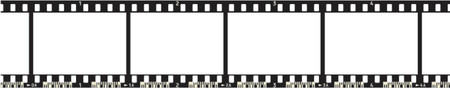halide:  Film Strip (4 Frames, with numbers, with code)