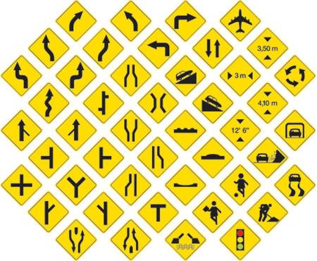 フォーマット: 道路標識のベクトル形式パック 3  イラスト・ベクター素材