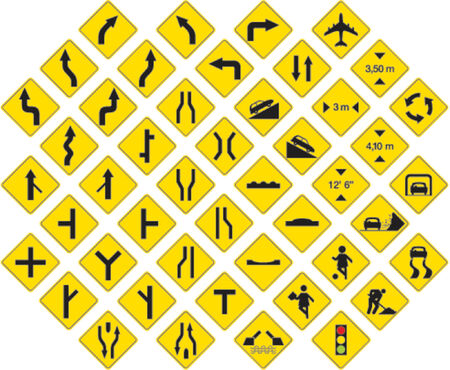 must: road signs in vector format pack 3